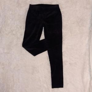 Juicy Couture Black Velvet Skinny Pants